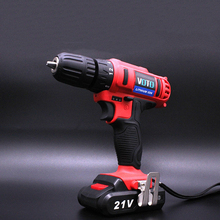 Electric Screwdriver Li-Ion Rechargeable Two-speed Electric Screwdriver Drill Multi-function стоимость
