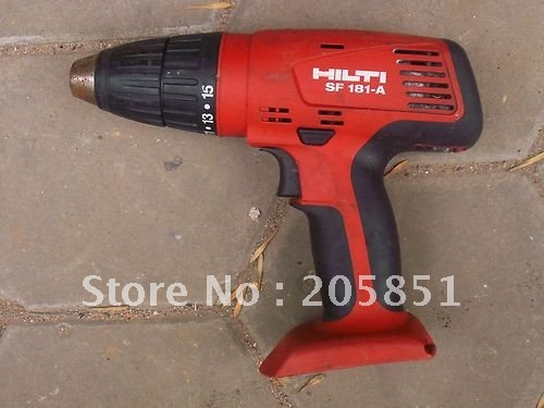 hilti 18v sf 181 a cordless drill driver in electric. Black Bedroom Furniture Sets. Home Design Ideas