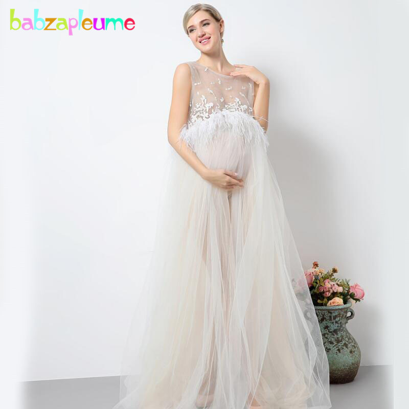 maternity photography long dress for photo shoots lace sexy costumes pregnancy dresses plus size pregnant women clothes BC1407