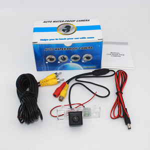 Автомобильная парковочная камера для Peugeot 207 CC 2007 ~ 2015/RCA AUX провод или Беспроводная/HD CCD камера ночного видения Автомобильная камера заднего в...