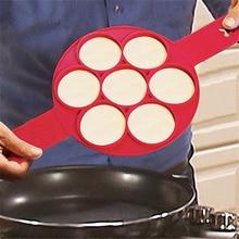 Форма для жарки яиц в виде формы для блинов производитель пресс-форм силиконовые формы с антипригарным покрытием простой Управление блин форма для омлета Кухня аксессуары