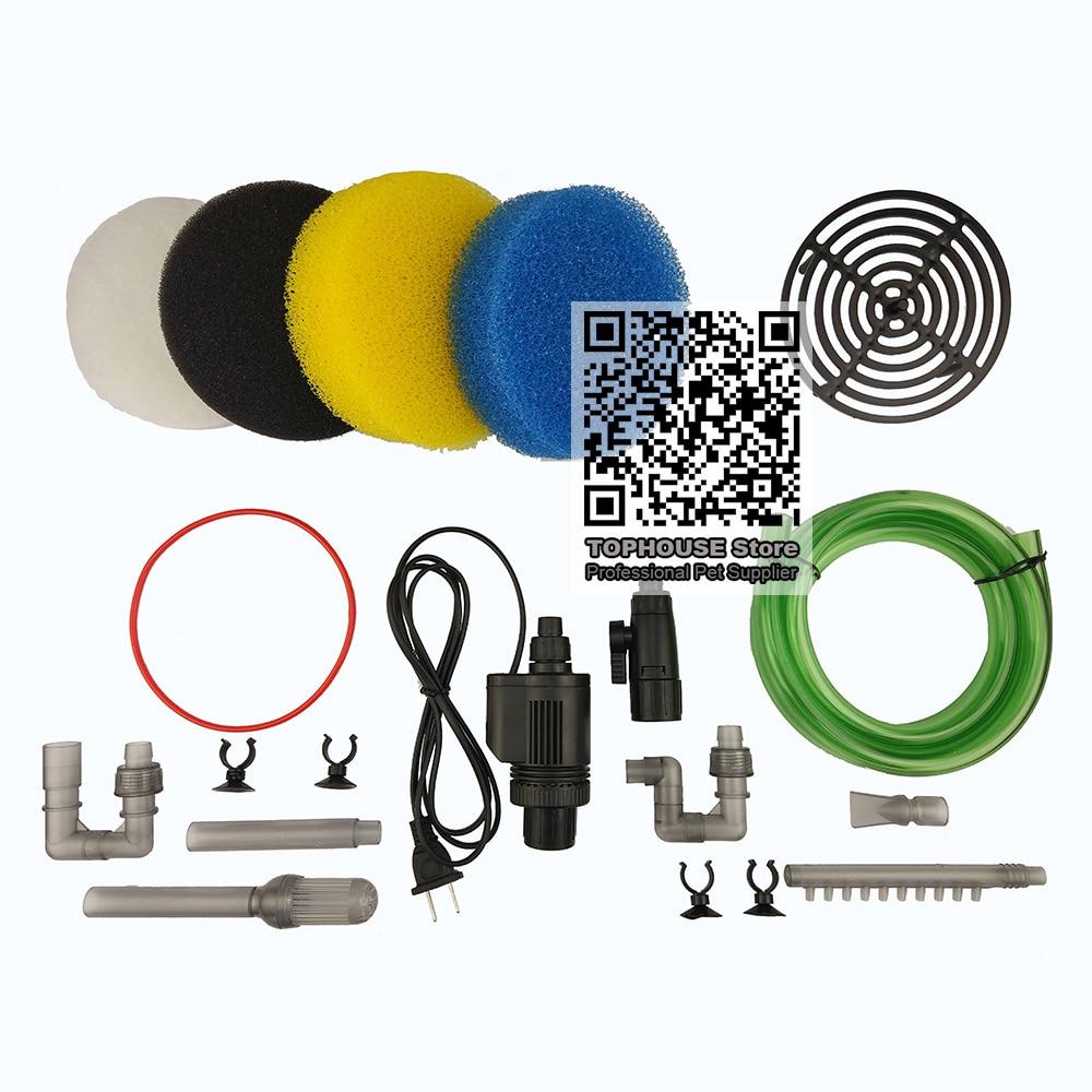 SUNSUN HW-602B/HW-603B Parts Aquarium External Canister Filter Replacement Accessories Input Output For Aquarium Filter Bucket