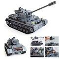 1193pcs KAZI 82010 Large Military Tanks Building Blocks Toys For Children Tank Bricks Educational Bricks Toy Kid Birthday Gift