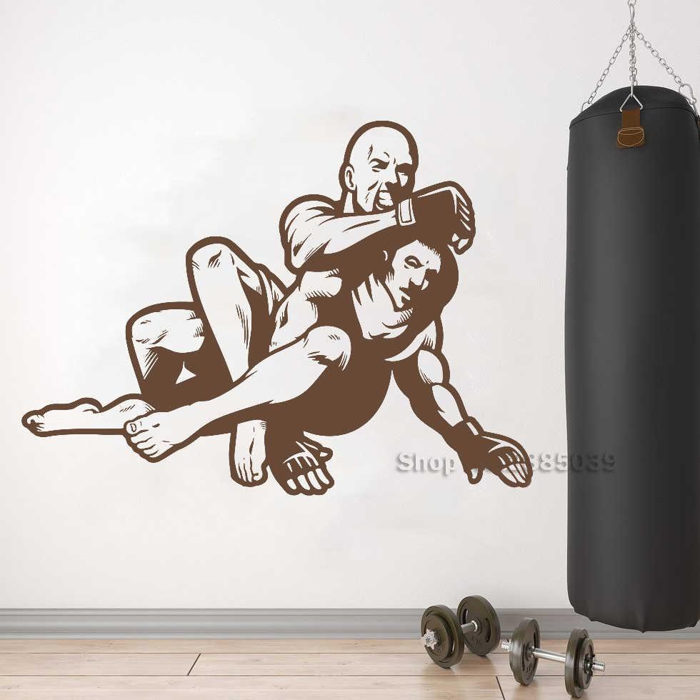 MMA wall sticker mixed martial art karate sports fight decal mma7