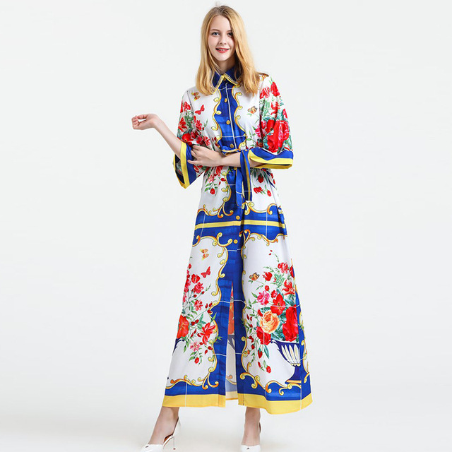 Damen Robe 2017 Frauen Sommerkleider Sexy Palast Designer Strand ...