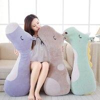 Soft Animal Cartoon Pillow Cushion Cute Long Unicorn Giraffe Horse Plush Toy Stuffed Lovely Kids Girl Birthyday Christmas Gift