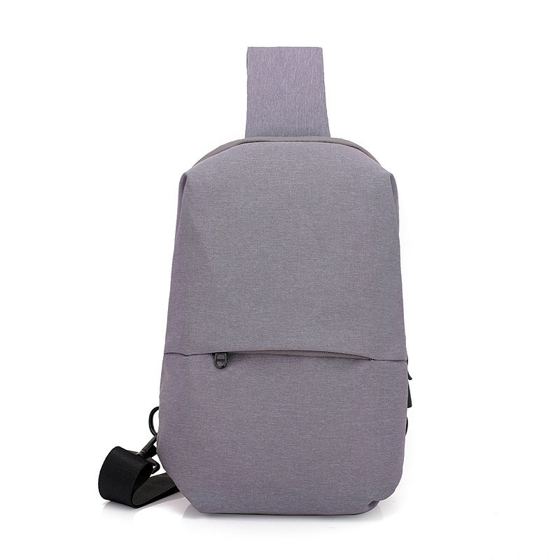2018 Nylon Men Women Chest Pack Crossbody Bag Casual Travel Rucksack Chest Bag Small Sling Bags Women Shoulder Back Pack A003