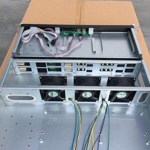 Image 4 - 2U660mm 8 disk hot swappable 19 дюймовая стойка, корпус сервера, промышленное компьютерное хранилище, Интернет кафе, чехол для компьютера