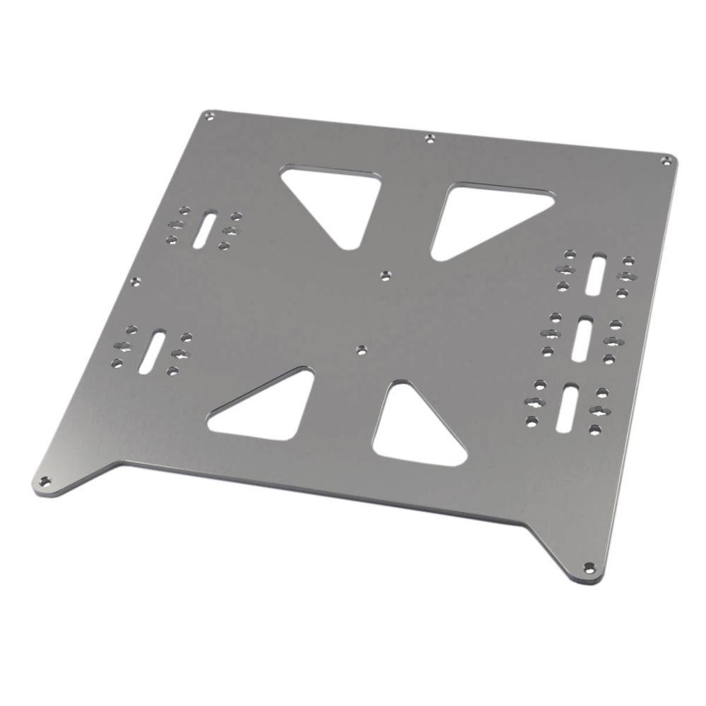 Funssor En Aluminium Y Transport Anodisé Plaque Mise À Niveau V2 pour Prusa i3 RepRap 3D Imprimante Bateau Rapide