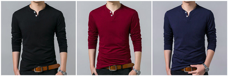 Le Jeune moderne.T-shirt-T-Shirt manches longues 2 boutons COODRONY pur Coton-T-Shirt manches longues 2 boutons COODRONY Pur Coton. Un look moderne proposé par le Jeune moderne pour sa qualité, sa coupe et fabriqué en 100% coton, gage de qualité.