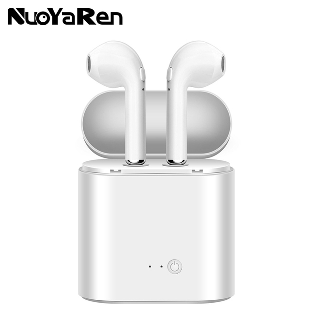 Hot Sell NUOYAREN i7s TWS Mini Wireless Bluetooth Earphone Stereo Earbud Headset With Charging Box Mic For All Smart phone