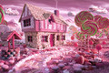 Jigsaw Puzzles 1000 Pieces Candy House lollipop Educational Toy Decorative Painting Gift Home Decoration jigsaw puzzle online