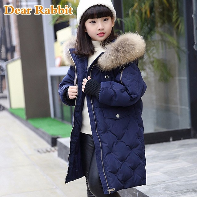 Aliexpress.com : Buy 2017 warm kids down jacket for girl ...