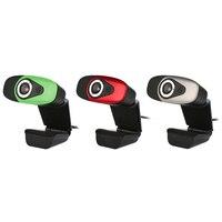 Ad alta Definizione USB 2.0 12MP HD Camera Web Cam 30 Gradi Girevole Built-In Microfono per Computer PC Webcam