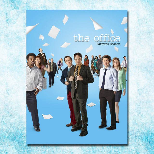 the office posters. The Office Hot TV Series Art Silk Canvas Posters 13x18 32x43 Inch Picture For Room Decor T