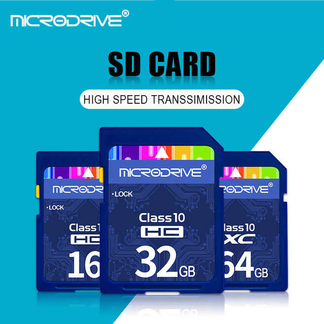 SD Card 128GB 64GB 32GB 16GB 8GB memory card Class10 cartao de memoria SDHC SDXC uhs-i HD video carte sd For Camera 5