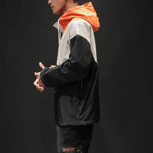 Image 2 - Mens Anorak Jackets Men Hip Hop Outwear Spring Sport Windbreaker Casual Outdoor men Autumn Fall Coat Streetwear Top 5XL