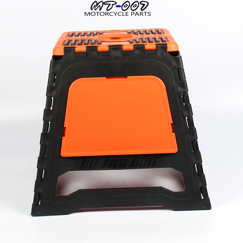 купить 4 color 2017 new Universal models Motorcycle Motocross Stand parking stool for KTM Honda Kawasaki Yamaha Huayang wave Seoul по цене 3059.89 рублей