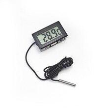 1 шт. ЖК-цифровой термометр для морозильной камеры температура-50~ 110 градусов Холодильник термометр Прямая 1 м длина линии