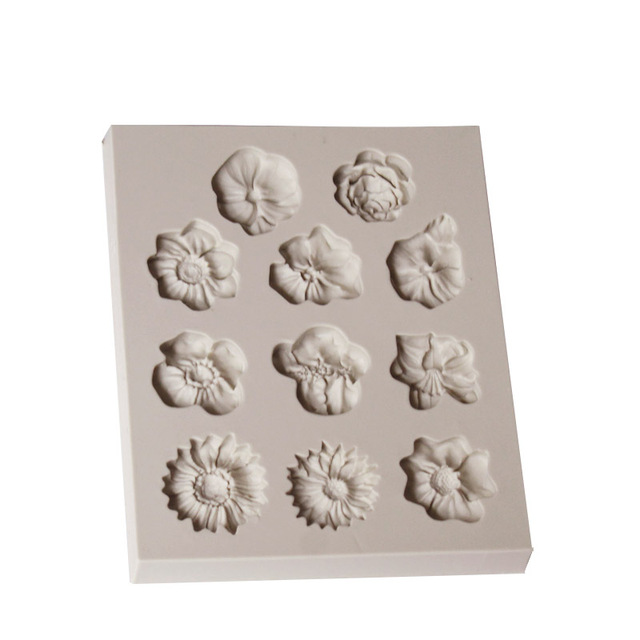 Flower Silicone Fondant Mold