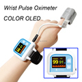 Wrist Pulse oximeter  Blood Oxygen Monitor Color  Adult Probe