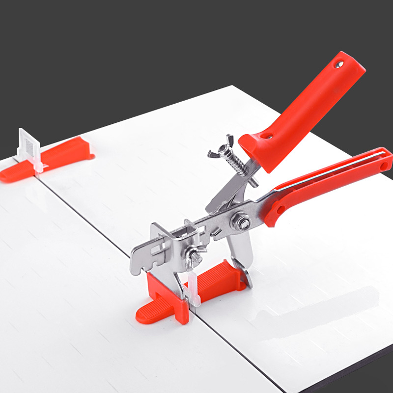 Hand tool pliers | Disposable plastic bases | Plastic wedges | Tile Locator Leveling System | Tiling Installation Tool