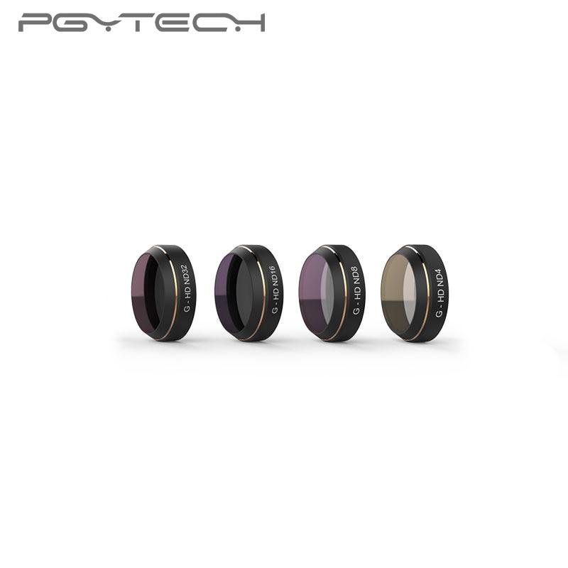 PGYTECH 4pcs/set DJI MAVIC Pro Lens Filters G-HD-ND4 ND8 ND16 ND32 for DJI MAVIC Pro Drone filterPGYTECH 4pcs/set DJI MAVIC Pro Lens Filters G-HD-ND4 ND8 ND16 ND32 for DJI MAVIC Pro Drone filter