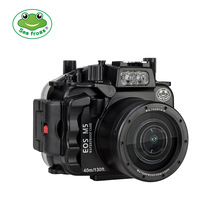 Waterproof Housing Case for Canon Camera EOS M5 18-55 mm Photography Underwater 40m Freely Diving Essential Outdoor Equipment meikon 40m 130ft underwater camera housing for canon eos m5 18 55mm waterproof camera bags case for canon eos m5 18 55mm