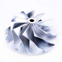 Kinugawa Turbo Billet Compressor Wheel 47.04/58mm 11+0 Small Nose for Dodge Caliber SRT-4 49389-01761 TD04HL-20T