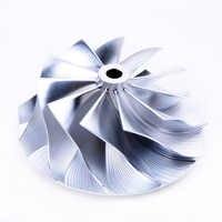 Kinugawa Turbo Roda Do Compressor Boleto 47.04/58mm 11 + 0 Pequeno Nariz para Calibre Esquivar SRT-4 49389-01761 TD04HL-20T