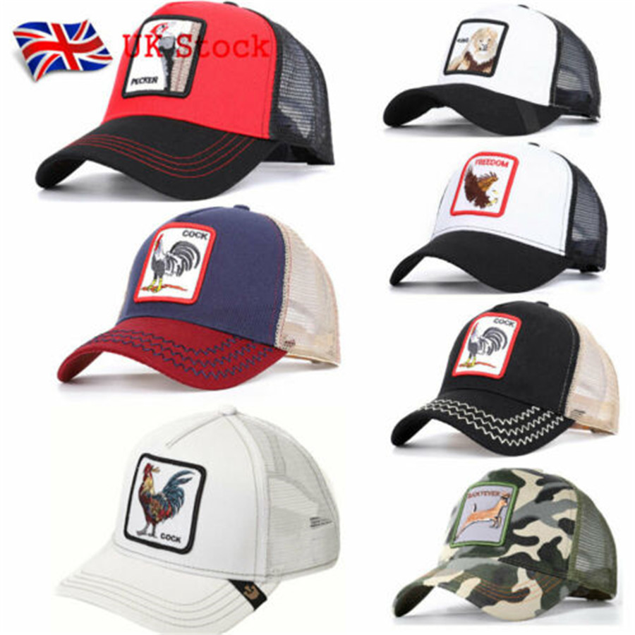 2019 Newest Fashion Snapback Trucker   Baseball   Hat   Cap   Adjustable Animal Farm Hot Sale