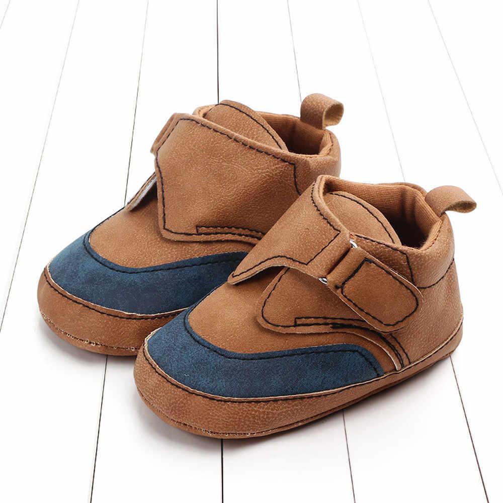 Recién Nacido primeros caminantes primavera y otoño moda lindas niñas bebé recién nacido bebé Casual primeros caminantes zapatos de niño zapatillas de deporte