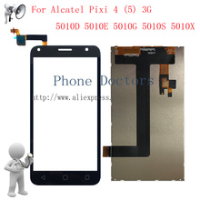 5 0 LCD display Touch screen digitizer assembly For Alcatel Pixi 4 5 3G 5010 5010D