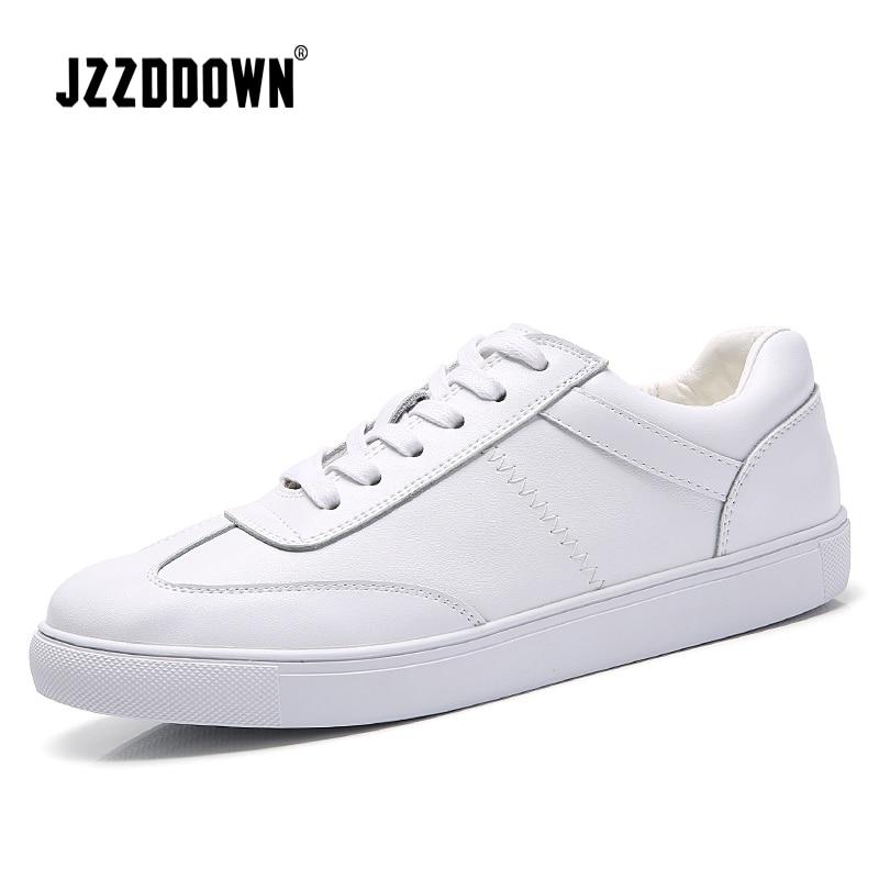 Femmes Sneakers Casual Lace Dames Cuir Toile De Luxe Vulcaniser Blanc Mocassin Black white Up Véritable Mocassins Appartements Chaussures F3TlJc1K