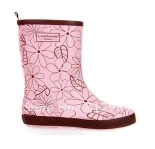 Round Toe Rain  boots