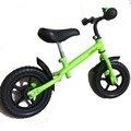 Nueva 12 Pulgadas Striders Equilibrio Bicicleta Ruedas de fibra de Carbono Azul Rojo Amarillo Rosado Verde Chico de La Bicicleta Marco De Acero de Alta Calidad