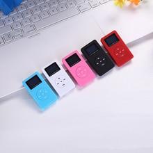 цена на Mini MP3 Player LCD Screen Support 32GB Micro SD TF Card  portable music player  digital audio player