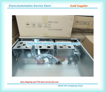2U380 Chassis Firewall Storage Monitoring /NAS/POS Router Case Aluminum Panel Supply PC Power