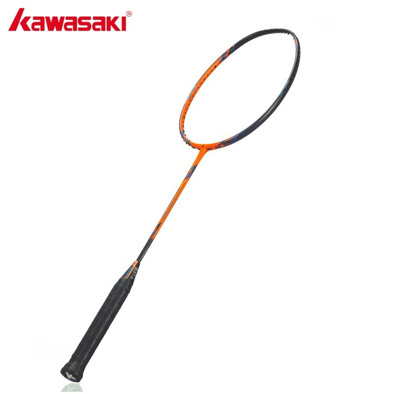 Kawasaki 3U raquettes de Badminton haute Tension 3330 plus haut 32 livres Type offensif raquettes professionnelles raquette en carbone