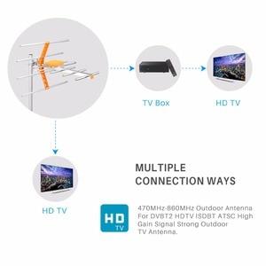 Image 5 - HD דיגיטלי חיצוני טלוויזיה אנטנה גבוהה רווח HDTV אנטנה עבור DVBT2 HDTV ISDBT גבוהה רווח חזק אות חיצוני טלוויזיה אנטנה