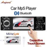 autoradio 1 Din 4 inch Car radio 1din Touch Screen Mp3 Mp5 Multimedia player universal auto audio Bluetooth FM Capacitive screen