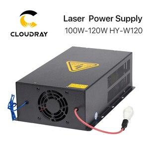 Image 5 - Cloudray 100 120 w co2 레이저 전원 공급 장치 co2 레이저 조각 기계 HY W120 t/w 시리즈