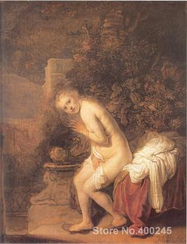 Susanna and the Elders Rembrandt van Rijn painting for sale Art Portrait Hand painted High quality