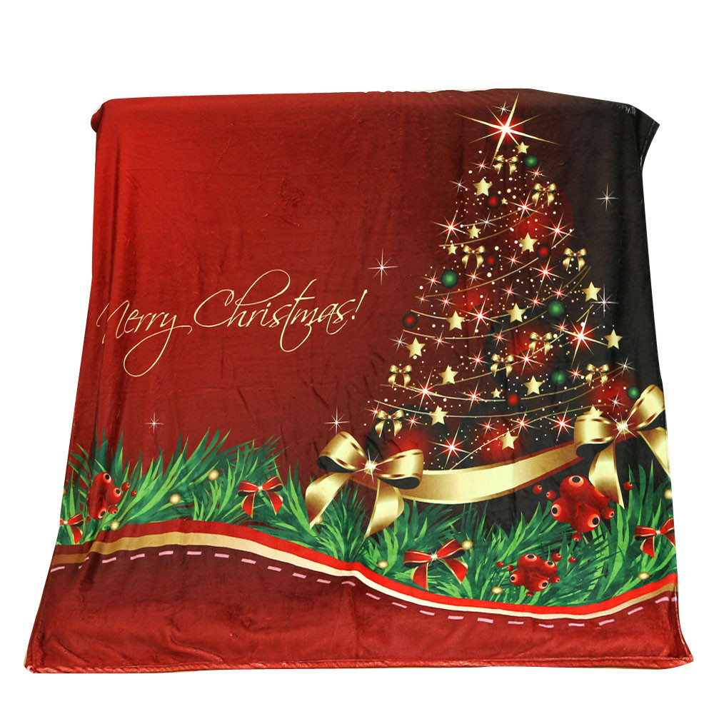 Throw Blanket For Sofa New Year Christmas Decorations For Home