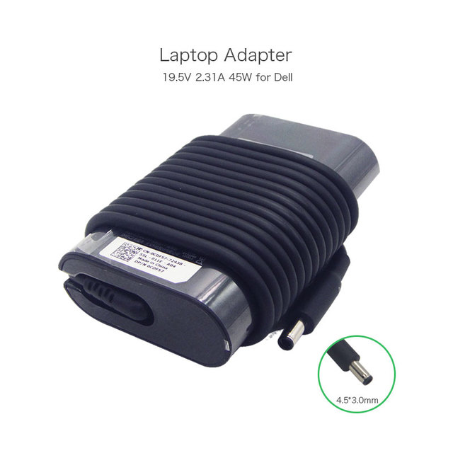 Hot Selling In USA Market 19.5V 2.31A 45W Laptop AC DC Adapter Power Supply for Dell XPS 11 12 13 DA45NM131 LA45NM131 Ultrabook