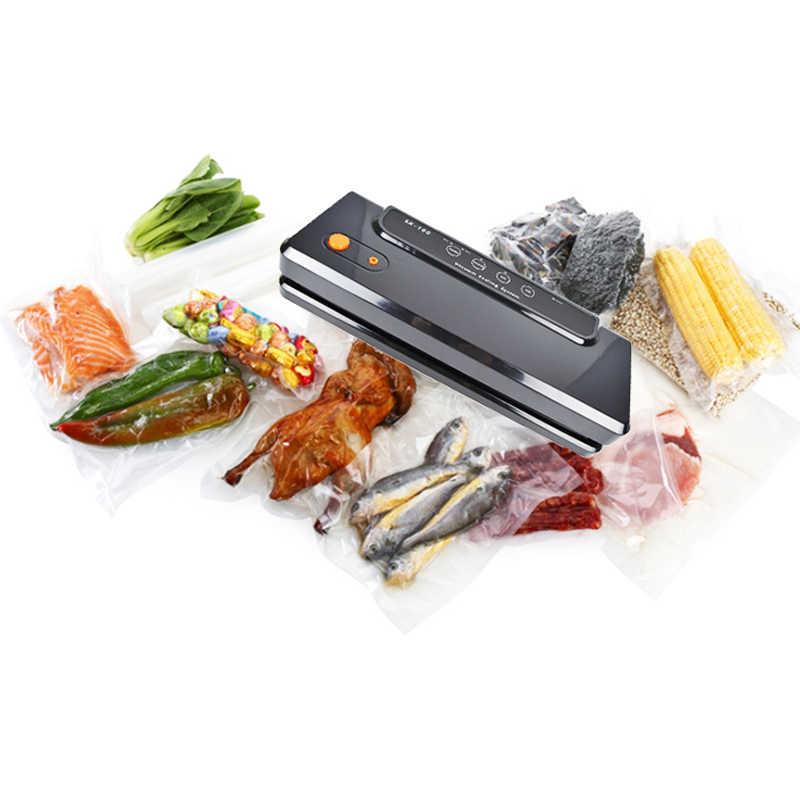 ATWFS wielofunkcyjna maszyna do zgrzewania próżniowego strona główna najlepszy uszczelniacz próżniowy świeża pakowarka przechowywania żywności pakowacz próżniowy torby 150W