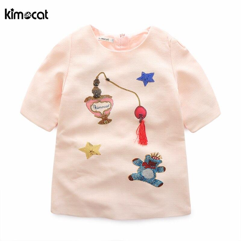 Aliexpress.com : Buy Kimocat Girls Summer Dress Hand made ...