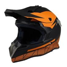 Мотокросс Шлемы оранжевый мотоцикл ATV Байк Шлем Moto Каско Capacete Moto крест шлем
