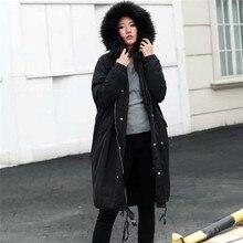 64935255865 Feitong парка Для женщин 2018 зимняя куртка Для женщин пальто флис с  длинным рукавом Открытый ветер