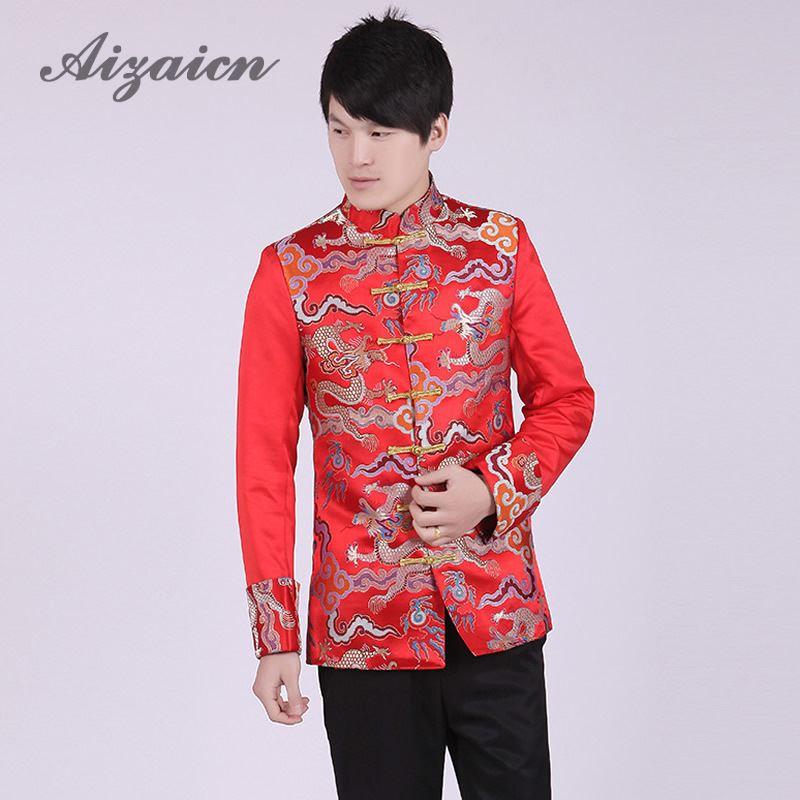 Chino vestido de boda del novio hanfu ropa tradicional para los ...